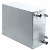 Бак сточный из нержавеющей стали Shurflo 3414-0101 24 л 19 и 38 мм