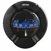 Компас с прямой картушкой Ritchie Navigation Venture SR-2 чёрный/синий 94 мм 12 В устанавливается на кронштейне