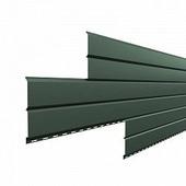 Сайдинг наружный металлический МеталлПрофиль Lбрус Pegasus Светло-зеленый 3м (Colorcoat Prisma, 0,5мм, глянец.)