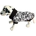 Свитер для собак Ami Play цветы черно-белые, 26см