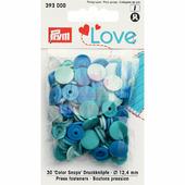 Кнопки Color Snaps пластик 30 шт разноцветные Prym Love 393000