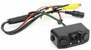 Парктроник c камерой заднего вида ALFA AFK-252 Black