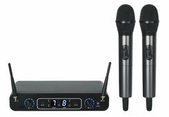 B&G ACE-288 Радиосистема вокальная, UHF 600-937MHz, PPL, 32 канала, 2 ручных микрофона