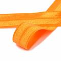 Лента эластичная, цвет F157 т.оранжевый