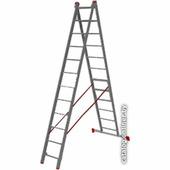 Лестница-трансформер PRO Startul ST9947-12 2x12 ступеней