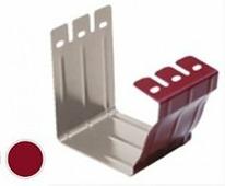 Соединитель водосточного желоба Grand Line Vortex 127/100, Красный