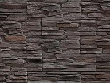 """Декоративный искусственный камень РокСтоун Сланец """"Медвежья кожа"""" 1409п, Шоколад"""