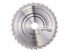 Пильный диск для грубых быстрых пропилов Bosch Speedline Wood 210х30мм 30 перем.(2608640803)