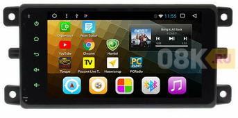 Штатное головное устройство УАЗ Патриот 2012-2017 на Android 8.1 CARDROX CD-4079