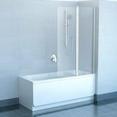 Шторка для ванны Ravak CVS2-100 L хром+транспарент