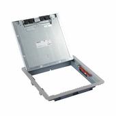Крышка для напольной коробки нержавеющая сталь стандартное исполнение 16-24 модуля. Цвет Нержавеющая сталь. Legrand (Легранд). 088005