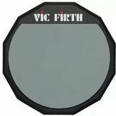 "VIC FIRTH PAD12 Single sided, 12"" тренировочный пэд"