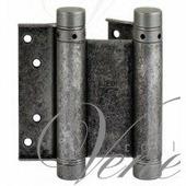 Дверная петля ALDEGHI 101FA125 125X42X2 мм античное серебро