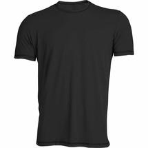 Однотонная спортивная футболка Splav «Stretch», чёрный, размер: 44