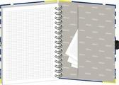 Тетрадь 120 листов в клетку Mariner