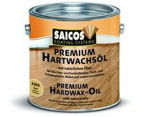 Saicos (Сайкос) Масло с твердым воском Premium Hartwachsol - 3310 - Ультраматовое, 0.125 л, Производитель: SAICOS
