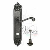 Дверная ручка на планке Venezia Vivaldi PL96 античное серебро wc