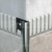 Полукруглый угол для плитки 12мм из нержавеющей стали 270 см