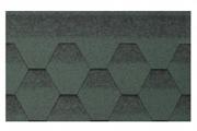 Гибкая битумная черепица Kerabit K+ Зелено-черный