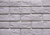 Декоративный искусственный камень РокСтоун Кирпич классический гипсовый 3200 ГП, Белый