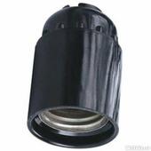 Патрон подвесной, Е27, 250 В, 4 А (чёрный)