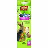 Vitapol Smakers зерновые палочки с яблоком для грызунов, 1шт, 45гр
