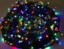 Светодиодная гирлянда Neon-night «Твинкл лайт» мультиколор 20 м