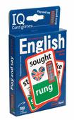 Умные игры с картами. Английские неправильные глаголы. Уровень 2. Синий (Айрис-Пресс)