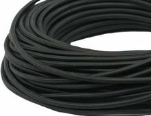 Ретро кабель круглый электрический (50м) 2*1.5, черный, ПДК2150-002 Panorama