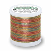 Вышивальные нитки Madeira POLYNEON Мультиколор 40 200м Арт. 9845