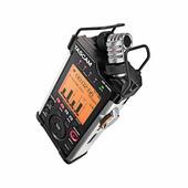Tascam DR-44WL портативный PCM стерео рекордер с встроенными микрофонами, Wav/MP3, с возмохностью подключения дополнительных 2-х внешних микрофонов с фантомным питанием 48В