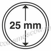 Капсула для монет 25 мм, CoinsMoscow