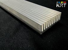 Радиаторный алюминиевый профиль 52,6х18,5мм