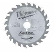 Диск пильный (по дереву) MILWAUKEE D 190х30х2,4 мм 24Z (1 шт.) 4932327969
