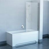 Шторка для ванны Ravak BVS1-80 хром+транспарент, без фурнитуры