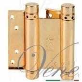Дверная петля ALDEGHI 101AO075 75X28X2 мм полированная латунь