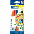 Milan Набор цветных карандашей MILAN, 12 шт.