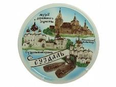 """Тарелка декоративная подарочная """"Суздаль"""", 30*30см 322805"""
