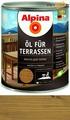 Масло для террас Alpina Oel fuer Terrassen, Средний 750 мл / 0,75 кг