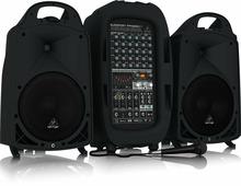 Behringer PPA2000BT - 8-канальная портативная система звукоусиления, 2000 Вт