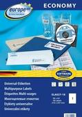 Avery Zweckform Этикетки самоклеящиеся Европа-100 210 х 297 мм 18 листов