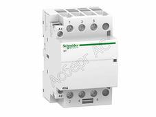 Контакторы модульные Schneider Electric iCT Модульный контактор 25A 4НО 220/240В АС Schneider Electric, A9C20834