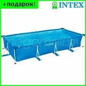 Бассейн каркасный Intex 28273 (58982) Metal Frame 450x220x84 см