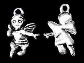 Подвеска ангел, серебро