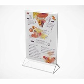 """Подставка под меню с треугольным основанием """"ACR-Menu Holder"""", А4, 10 штук"""