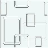 Эко панель бамбуковая – Five-Rings, 500х500х16mm