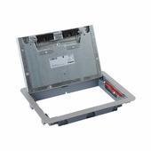 Крышка для напольной коробки нержавеющая сталь стандартное исполнение 8-12 модулей. Цвет Нержавеющая сталь. Legrand (Легранд). 088003