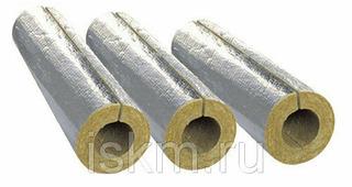 Цилиндры теплоизоляционные фольгированные 89/30 мм