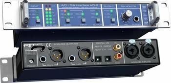 "RME ADI-2 - 2 канальный конвертер, 24 Bit / 192 kHz, HiPerformance AD/DA, 9 1/2"", 1U"