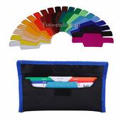 Комплект цветных фильтров гелей Selens SE-CG20 гели для вспышек